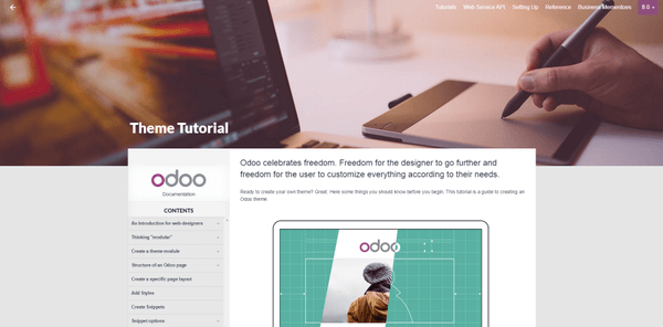 Odoo Tips of the month July 2015(webdesign)
